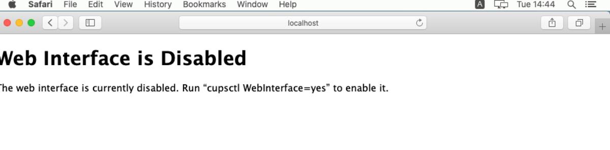 Badgy Interface web disabled