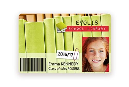 Badgy library cards